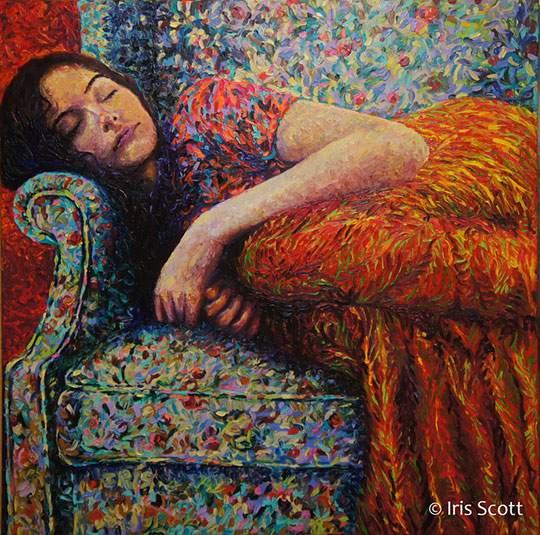 指で描かれた美しい絵画 - 03