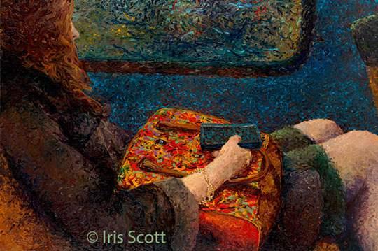 指で描かれた美しい絵画 - 07