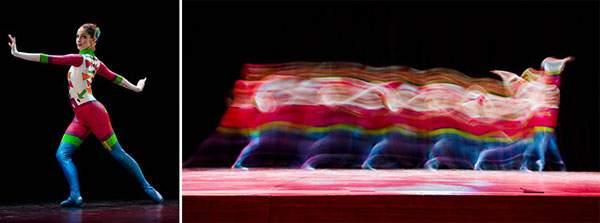 バレエダンサーを長時間露光で捉えた美しい写真作品 - 03