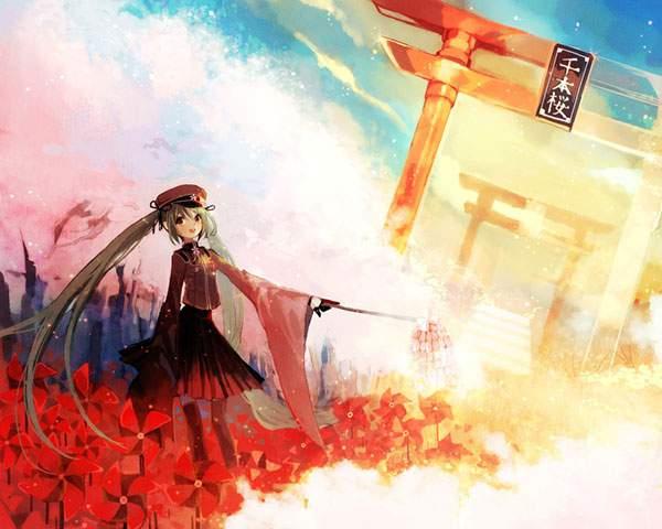 千本桜の壁紙