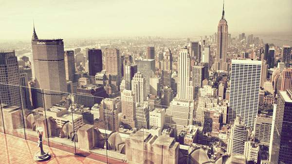 ニューヨークの高層ビル街