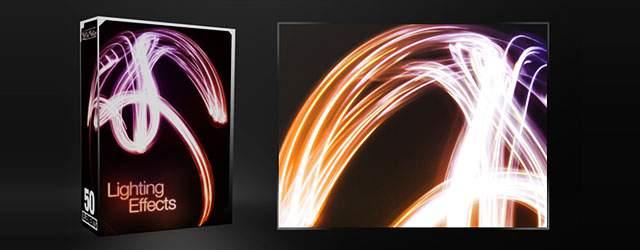 無料素材 画像ファイル同梱 かっこいいライティングエフェクトブラシパック