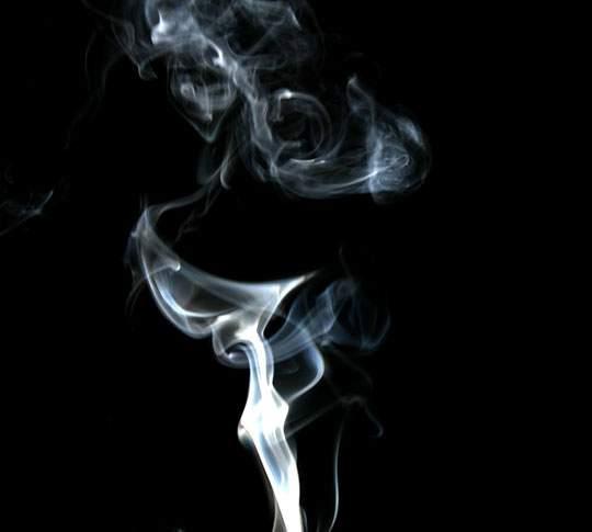煙を鮮明に撮影したフリーイメージパック - 01