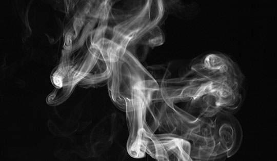 煙を鮮明に撮影したフリーイメージパック - 02