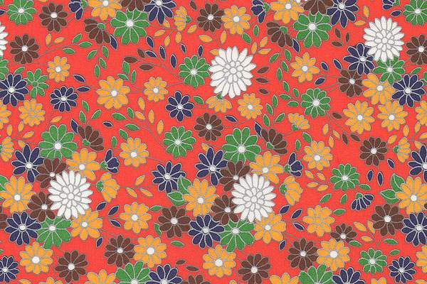 すべての折り紙 8月 折り紙 : 無料素材:和風デザインに ...