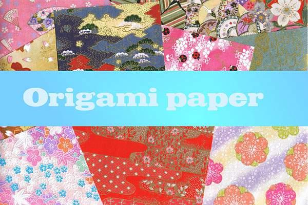 Origami paper - 16 of 'em XD