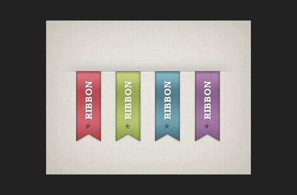 Vertical Ribbons - Freebie