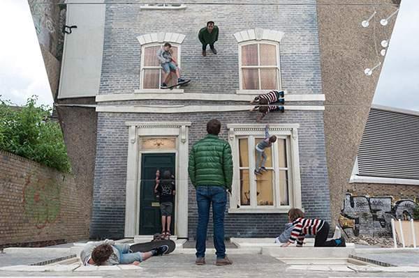 ロンドンの巨大トリックアートセット - 08