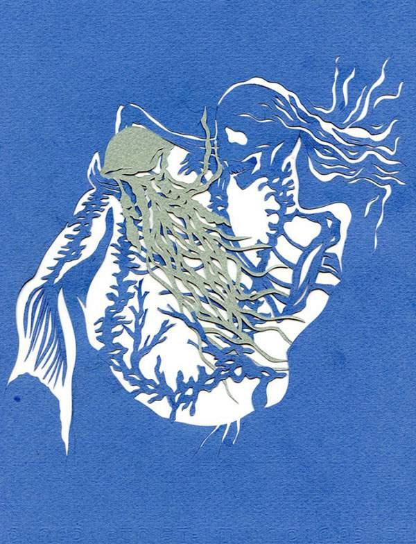 人魚とクラゲ