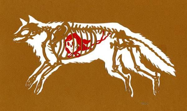 狼と赤ずきんちゃん