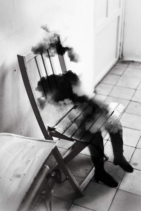 幻想的で独創的なモノクロ写真作品 - 01