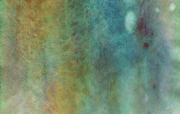 滲んだ水彩絵具が綺麗な高解像度テクスチャー素材 - 01