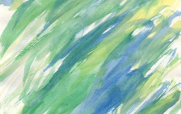 薄く溶いた水彩絵具の高解像度テクスチャー - 02
