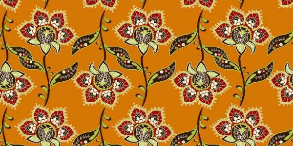 Paisley flower