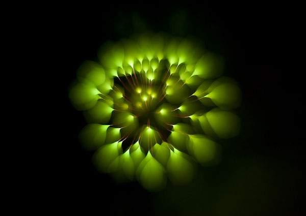 花火を変わったテクニックで撮影した写真作品 - 08