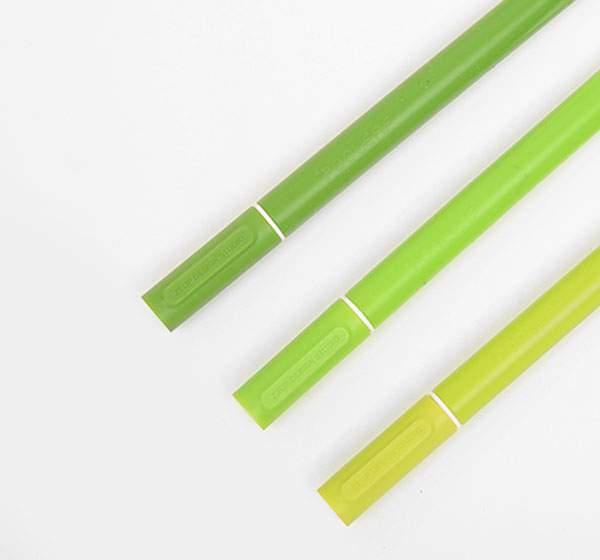 これちょっと欲しいかも!観葉植物風デザインのペン立てと草のペン - 03