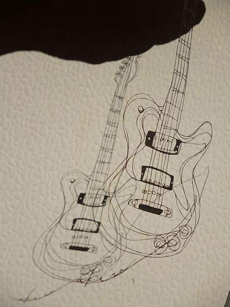 紙というよりは糸に近いレベルの切り絵アート - 04