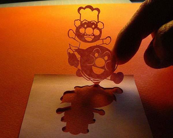 紙というよりは糸に近いレベルの切り絵アート - 15