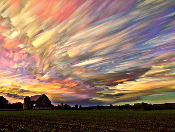 有り得ない形の雲の画像集 - 12