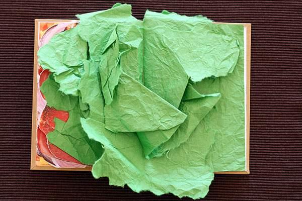 ページをめくると具がぎっしりな本のサンドイッチ - 06