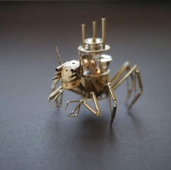 精巧に作られた機械仕掛けの昆虫達 - 01