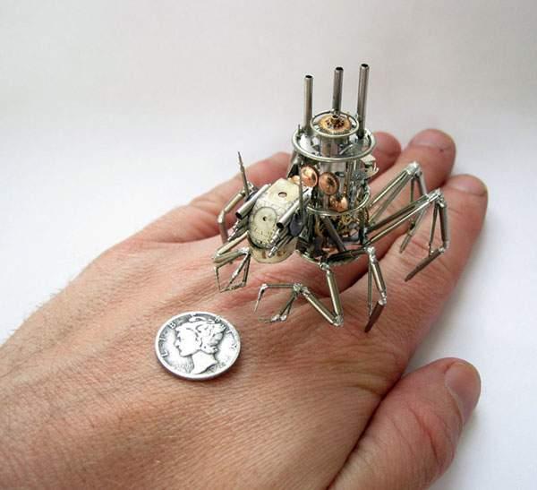 精巧に作られた機械仕掛けの昆虫達 - 02