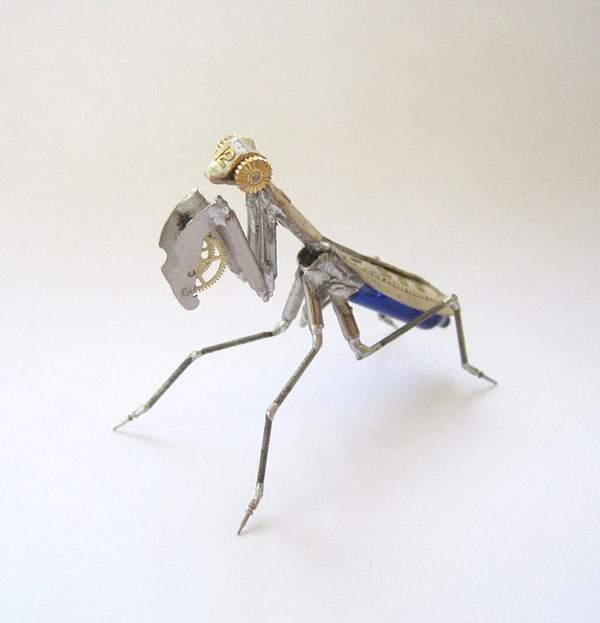 精巧に作られた機械仕掛けの昆虫達 - 05