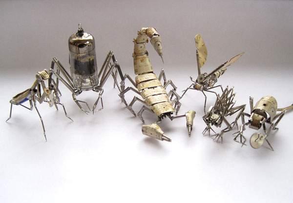 精巧に作られた機械仕掛けの昆虫達 - 07