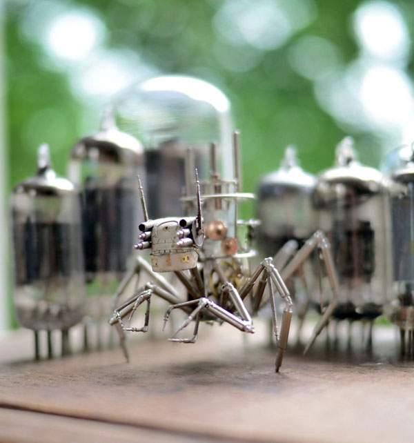 精巧に作られた機械仕掛けの昆虫達 - 08