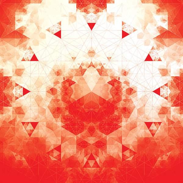 幾何学模様だけで作られたグラフィックアート作品 - 03