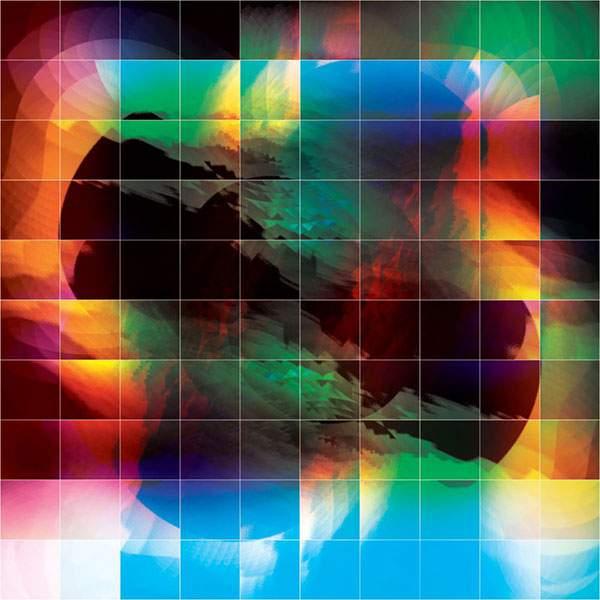 幾何学模様だけで作られたグラフィックアート作品 - 04