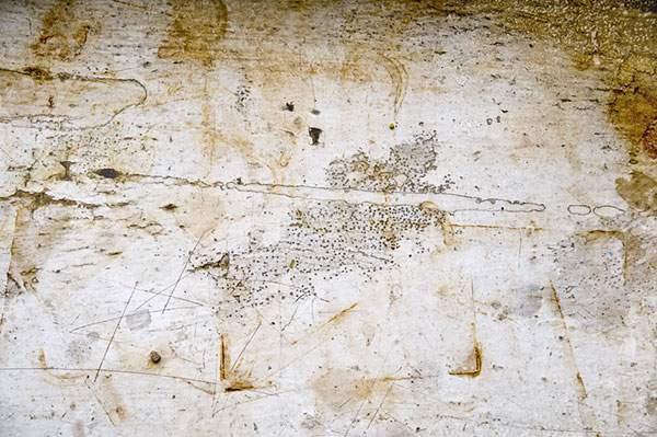 錆び付いて剥がれ落ちた金属の表面のテクスチャー画像 - 04
