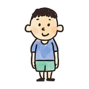 小学生の男の子のイラスト