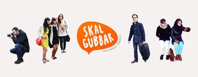 全部切り抜き済み!スナップ写真風の無料人物素材サイト「Skalgubbar」