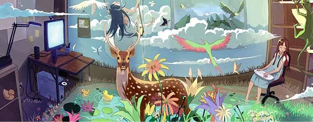 無料壁紙 おしゃれで可愛い 鹿をデザインしたイラスト画像まとめ Switchbox