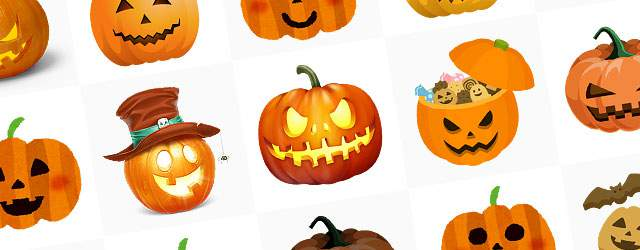無料イラスト素材:ハロウィンかぼちゃ(ジャック・オ・ランタン)の画像まとめ