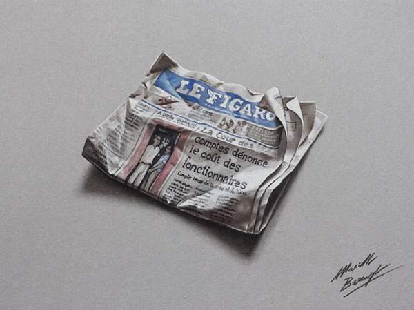 日用品を超精密に描いたイラストレーション - 03