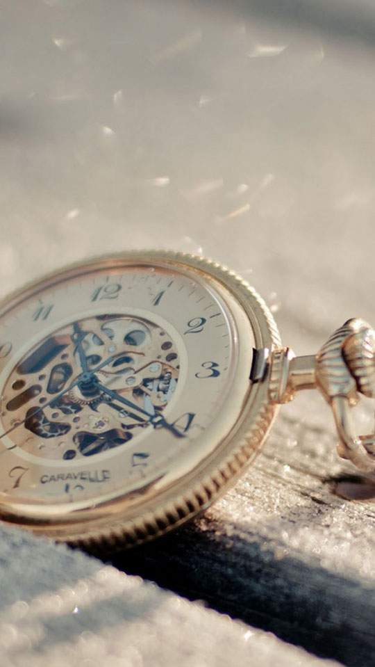 Pocket Watch Mobile Wallpaper