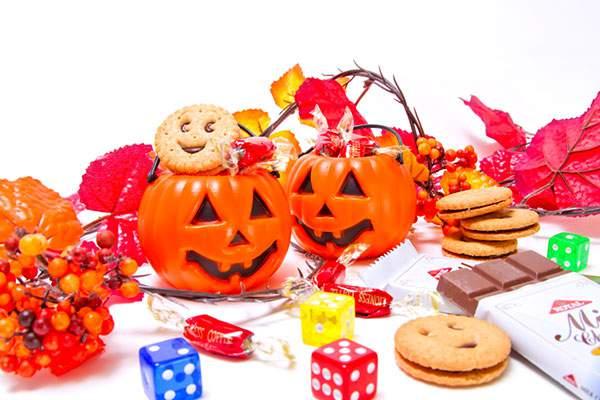 おばけのかぼちゃとお菓子