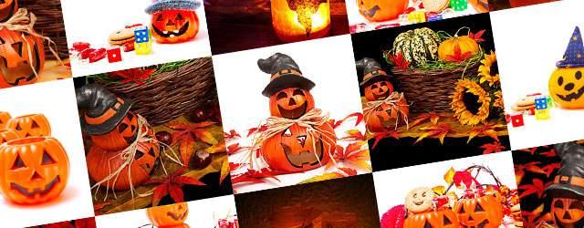 フリー写真素材:ハロウィン画像まとめ(カボチャ・キャンドル・紅葉・お菓子)