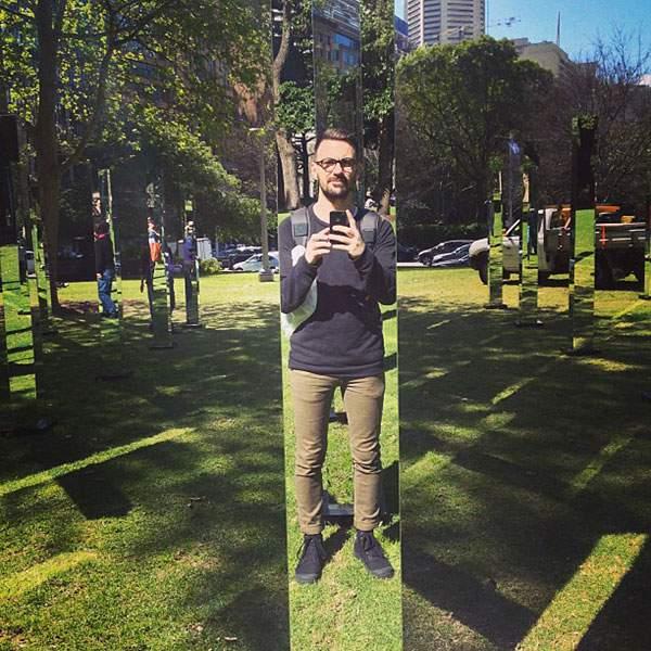 シドニーの公園に出現した鏡のパブリックアート - 01