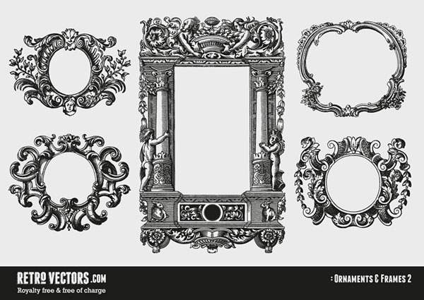 Ornaments and Frames 2