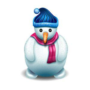 Snowman Icon 2