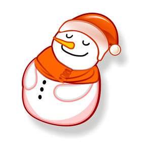 Snowman Icon 4