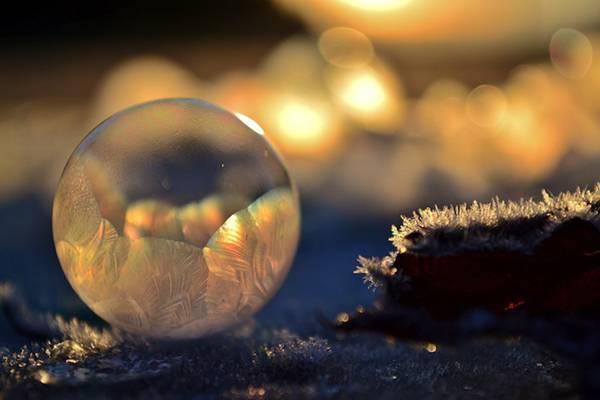 凍ったシャボン玉を撮影した美しい写真作品 - 05