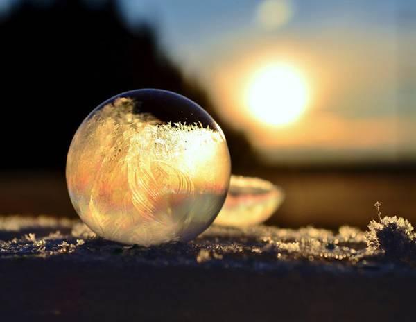 凍ったシャボン玉を撮影した美しい写真作品 - 06