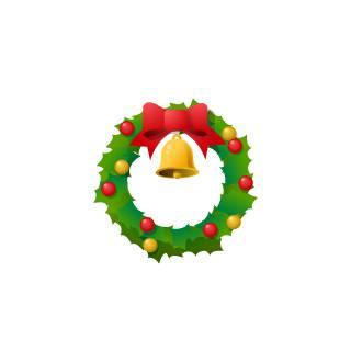 クリスマス-リース