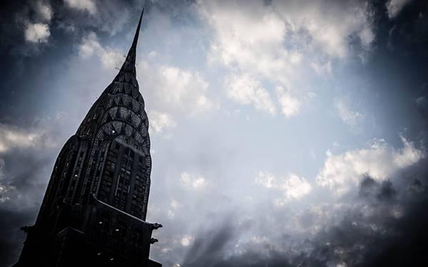 ニューヨークのクライスラービルを撮影したクールな写真壁紙画像