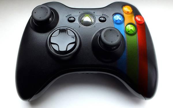 Xbox360のコントローラーをデザインしたクールな写真壁紙画像