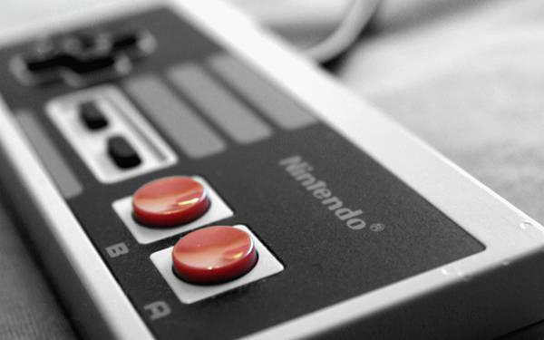 Nintendoのコントローラーを浅い被写界深度で撮影した写真壁紙画像